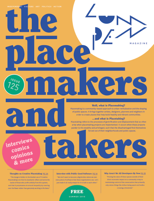 Lumpen #125 Placetakers & Placemakers