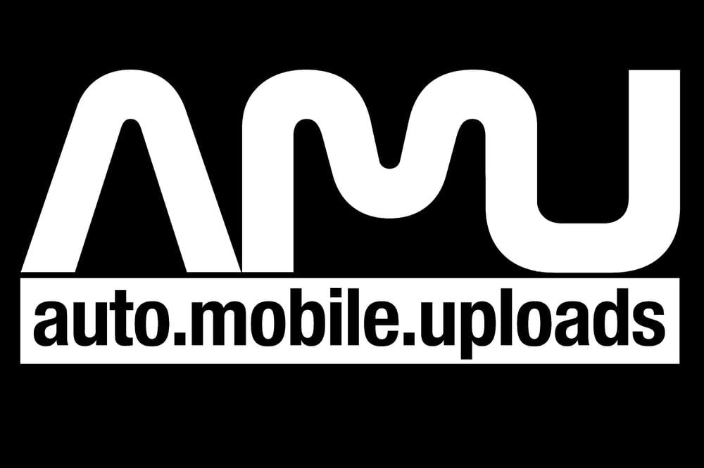 "Image of AMU Vinyl Sticker - 5"" - White"