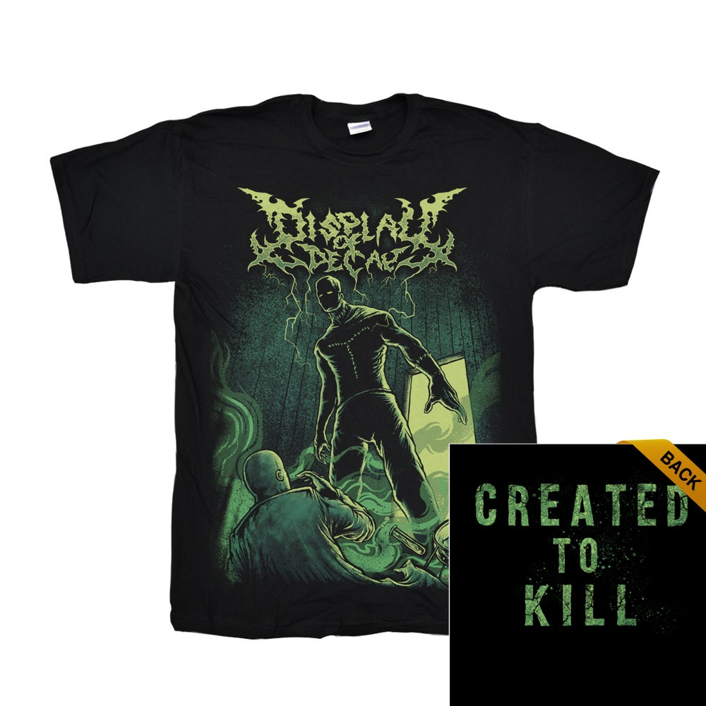 Image of Created to Kill tee