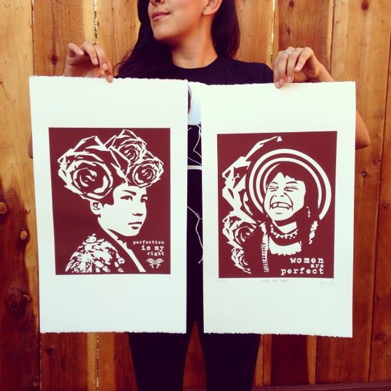 Image of Women Are Perfect Mini Prints