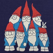 Image of Gnomes - Womens Fitted VNeck SM