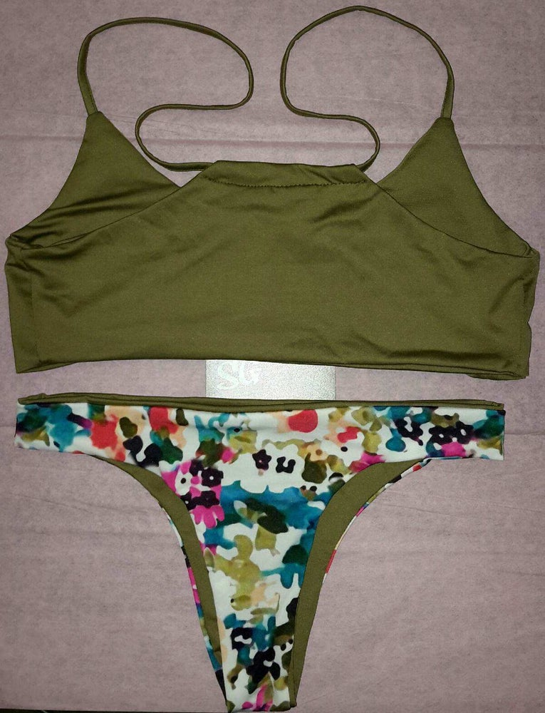 Image of SYNS PAINTED ART BIKINI   SWIMWEAR 2015