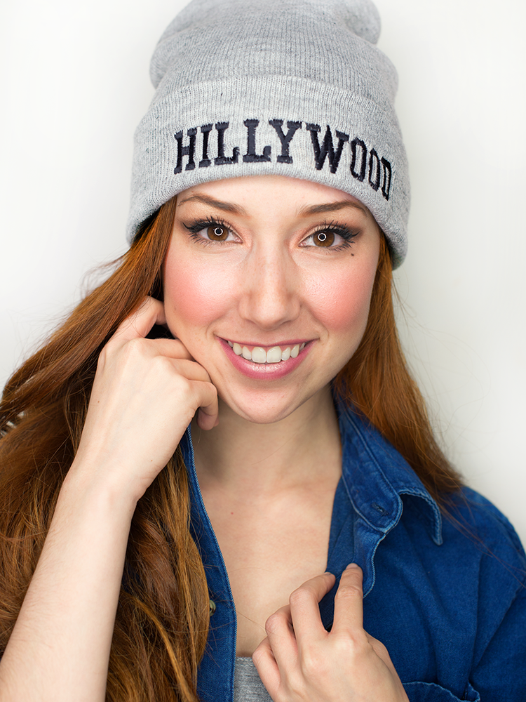 Image of Hillywood Grey Beanie