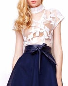 Image of CHAMILIA MESH BLOUSE