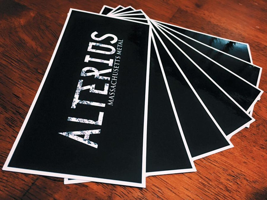 Image of Alterius Massachusetts Metal Sticker