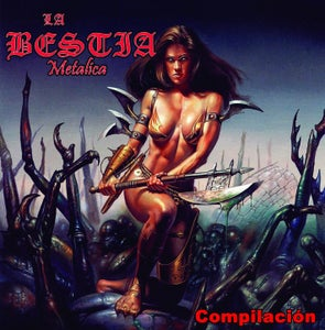 "Image of LA BESTIA METALICA ""Compilación"" CD"