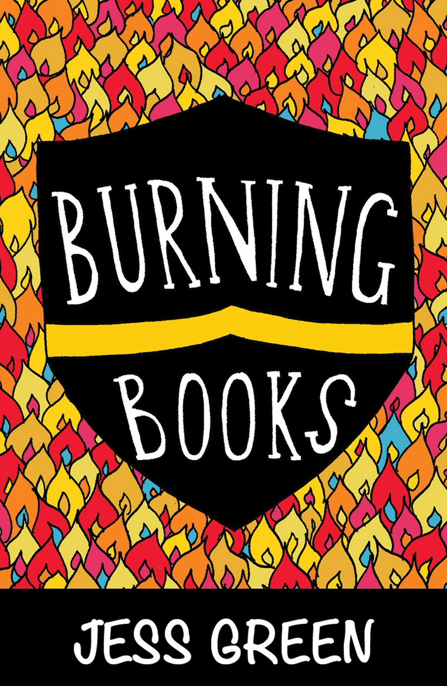 Image of Burning Books by Jess Green