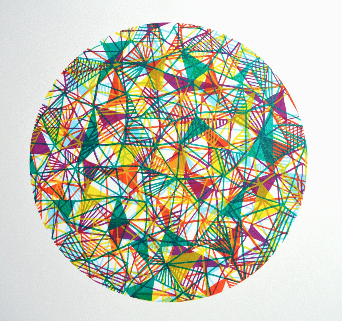 Image of 'Framework in Green'