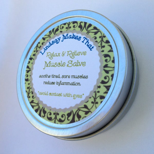 Image of Relax & Relieve Muscle Salve - 2 oz.