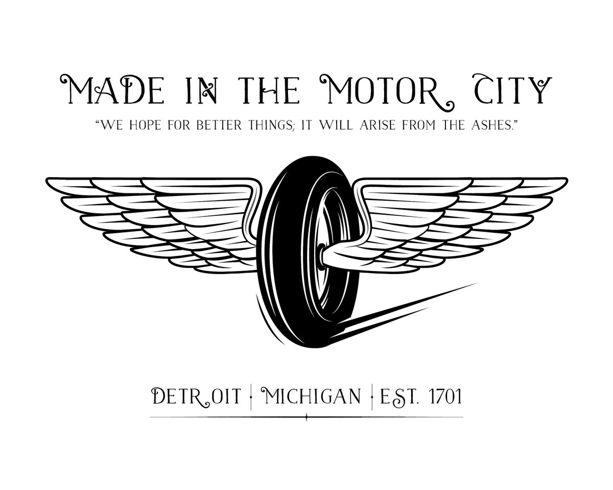 Made in the Motor City Print