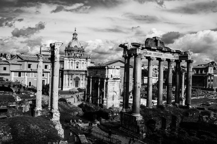 Image of Foro Romano - Rome Italy [LP07]