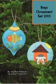 Image of Boys Ornament Set 2015