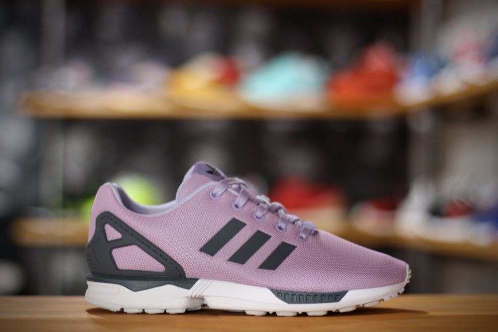 Image of adidas zx flux purple/white