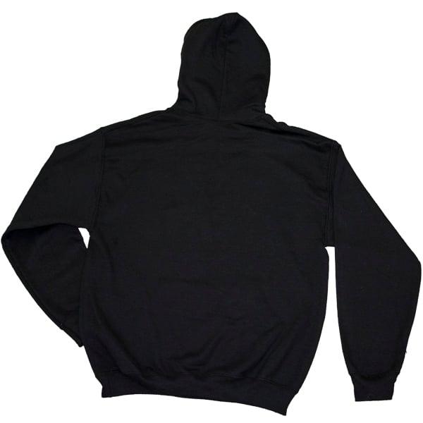 Image of Black Hoodie with White Seeburg Logo