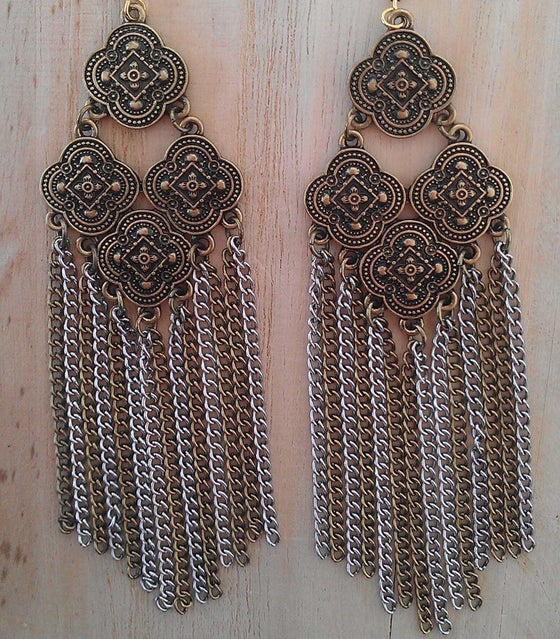 Image of Gypsy Fringe Earrings