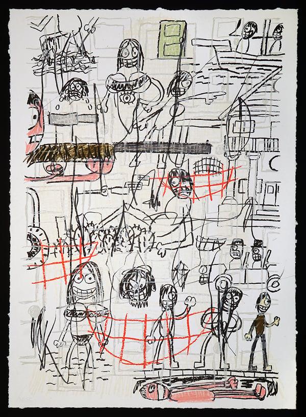 "Jay Stuckey - ""#16-#20, 2015"" - Unique Multiples - Misc. Press"