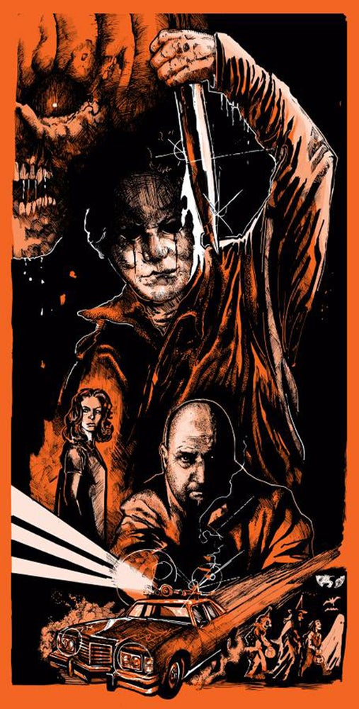 Image of The Nightmare isn't Over -MindWarp Limited Edition Screen Print- Numbered Unsigned Edition.