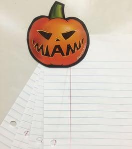 Image of Miami Jack-o-Lantern Magnet