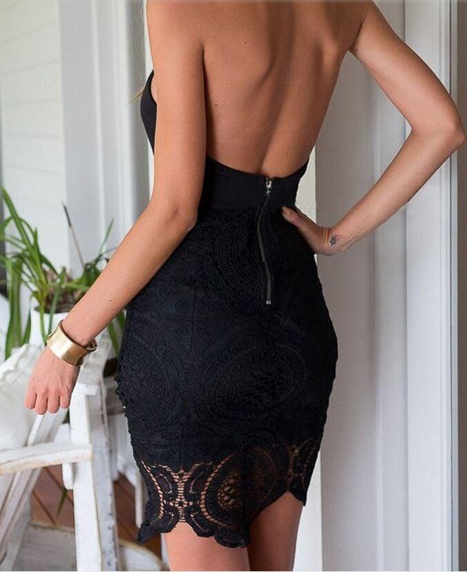 Image of HOT SEXY LACE DRESS