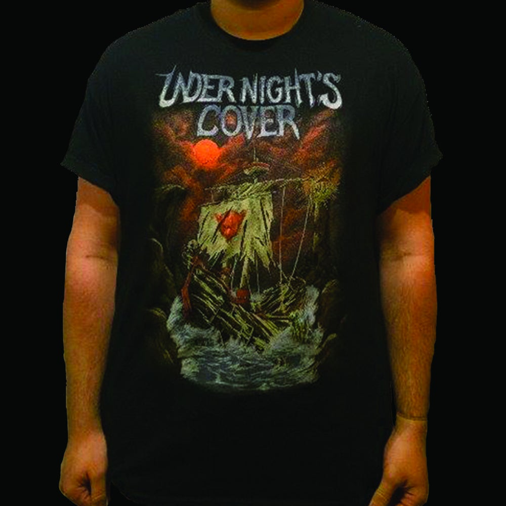 Image of Under Night's Cover 'Shipwreck' T-Shirt