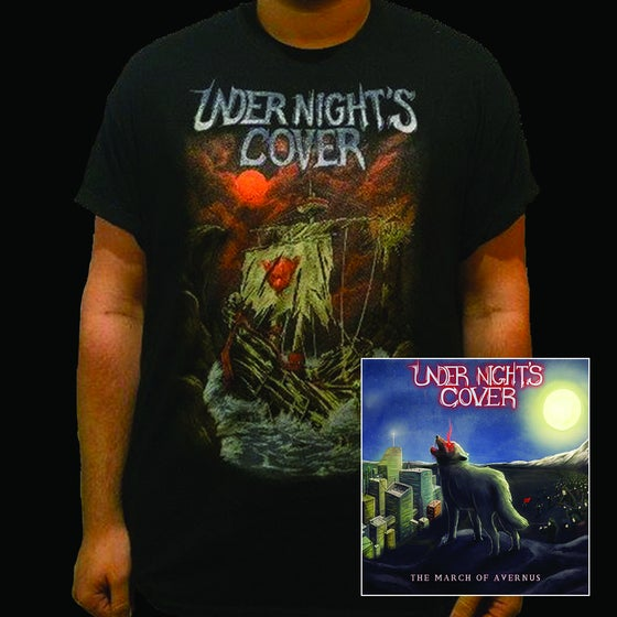 Image of The March of Avernus EP BUNDLE - EP + 'Shipwreck' T-Shirt