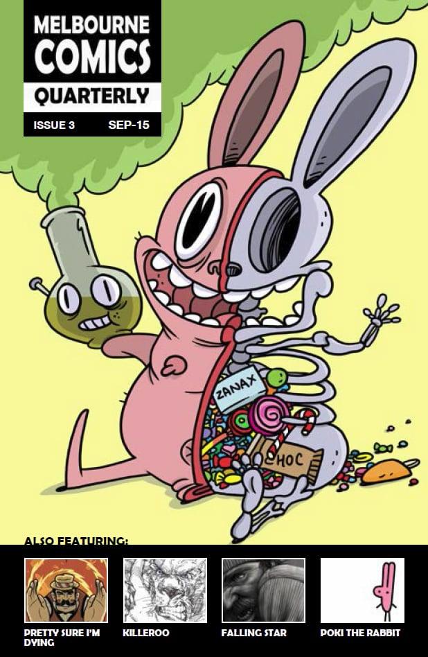 Image of Melbourne Comics Quarterly #3