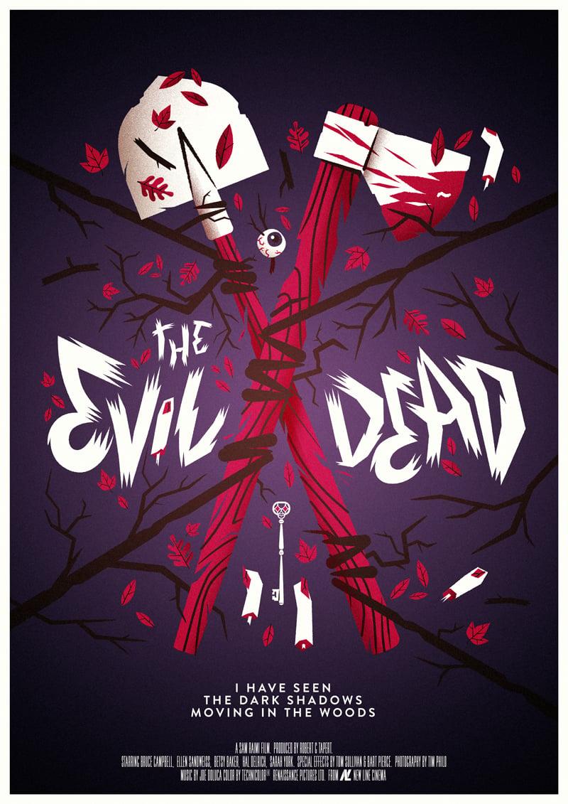 Image of The Evil Dead - Colour Version