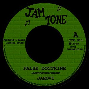 "Image of Jahovi - 'False Doctrine' 7"" single (Jamtone)"