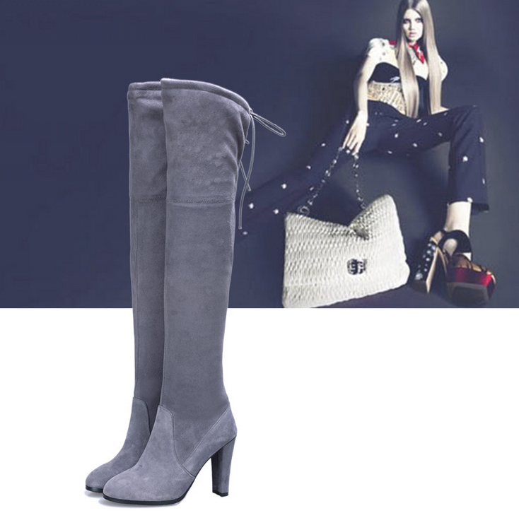 Image of FASHION CUTE LONG WARM BOOTS