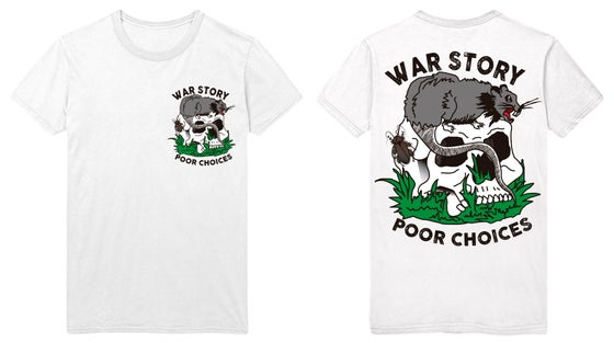 "Image of 'POOR CHOICES"" TEE"