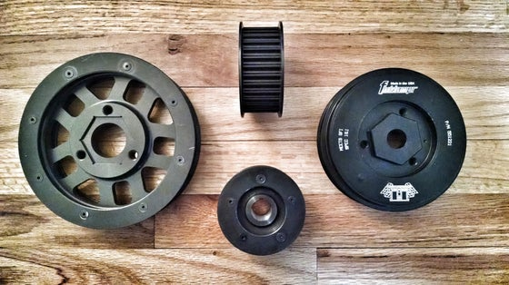 Image of E9 MK4 VF STAGE 3 COG PULLEY CONVERSION