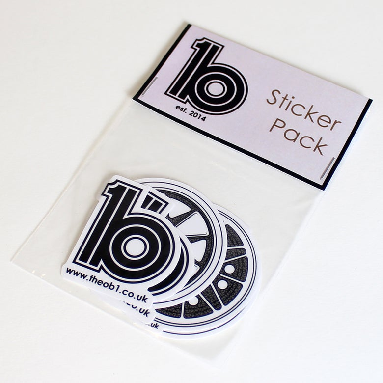 Image of ob1 Sticker Pack Two