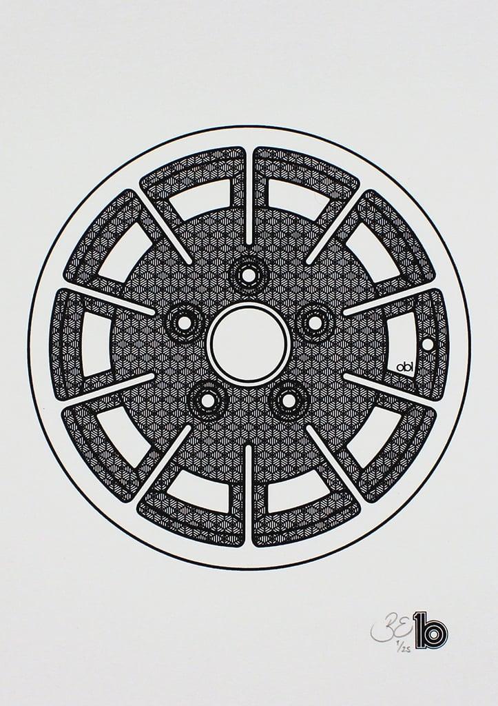 Image of A4 Gas Burner Print