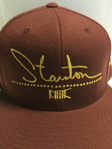 Image of The Stanton Social Hat (Burgundy)