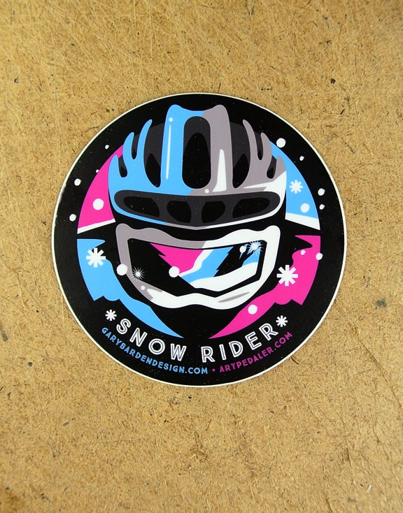 Image of Snow Rider Sticker