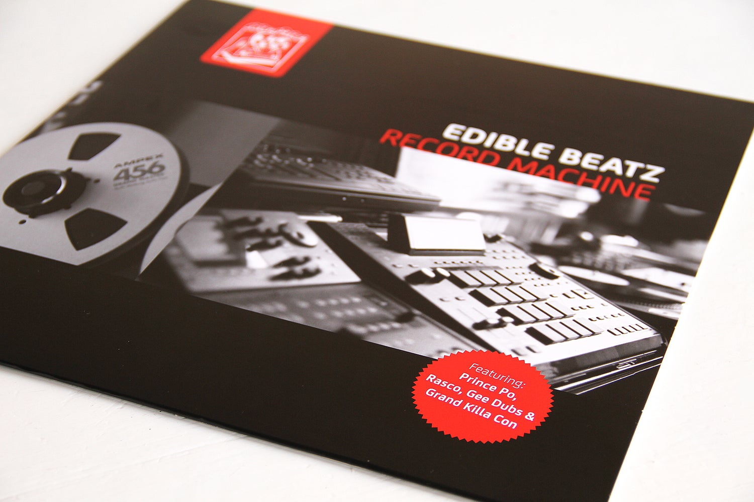 Image of Edible Beatz - Record Machine (Black Vinyl)