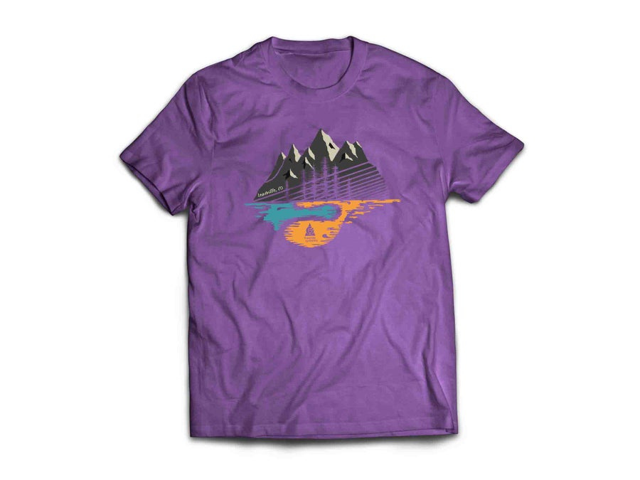 Image of Made in Colorado T Shirt Eggplant
