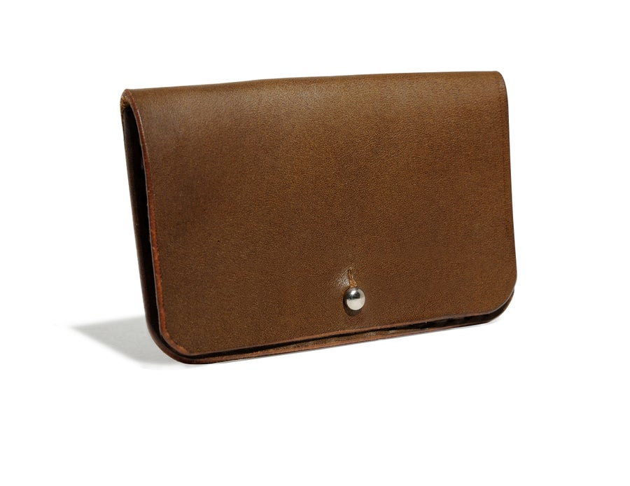 Image of Brown Card Case