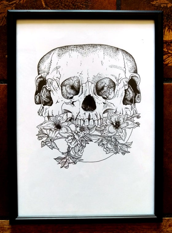Image of Skull - Original