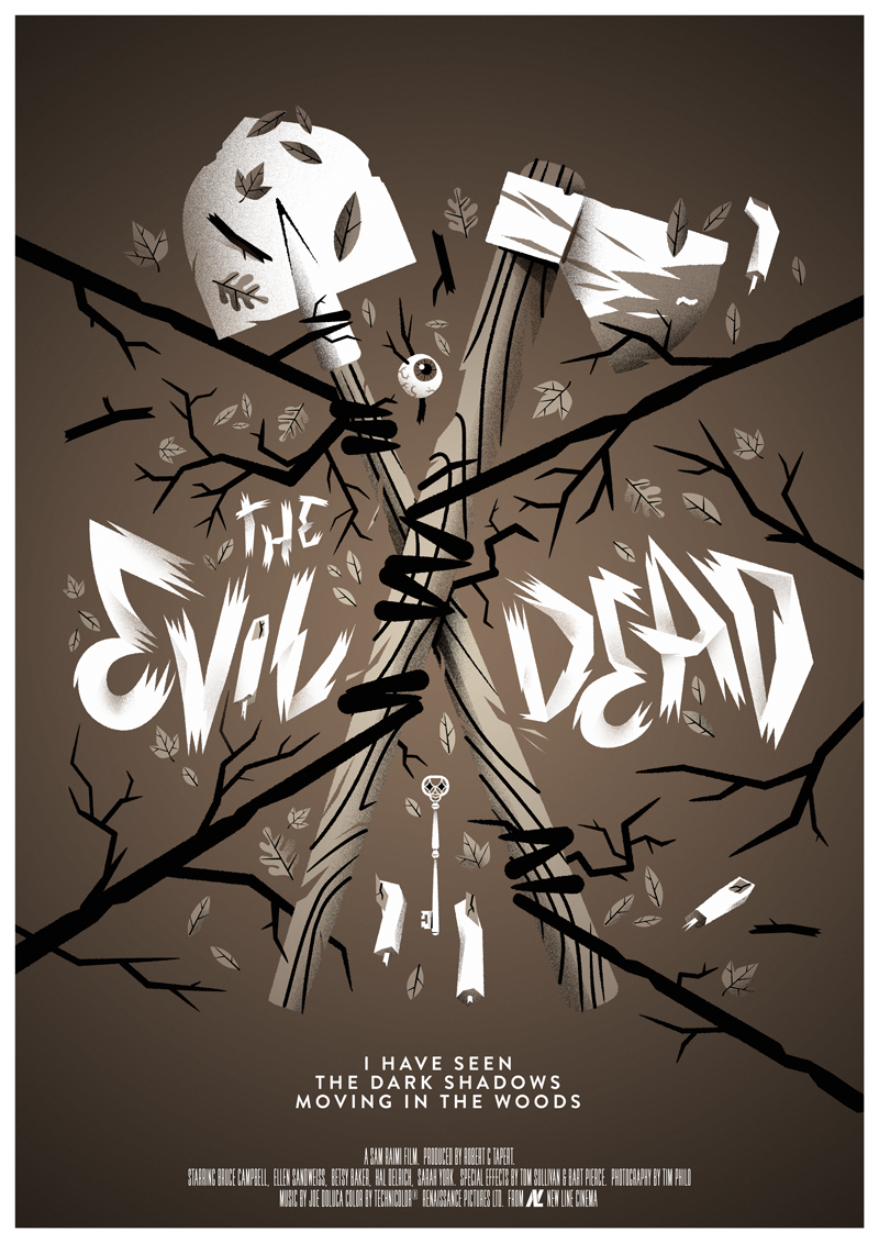 Image of Evil Dead - Black and White version