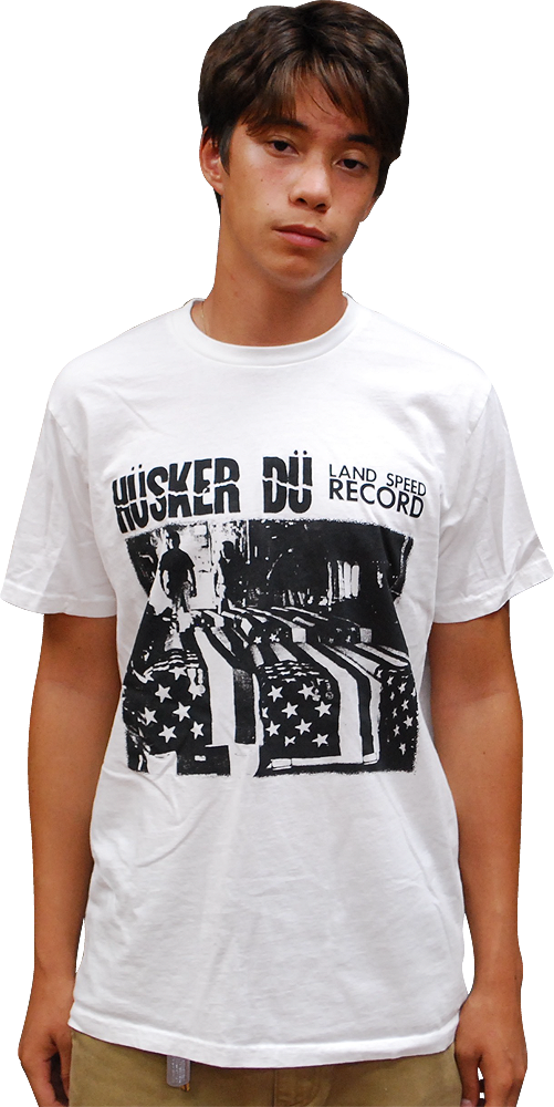 Image of HÜSKER DÜ: LAND SPEED RECORD T-SHIRT