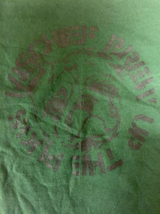 "Image of Mischief Brew - Pine Green ""Crasspug"" T-shirt (YOUTH LARGE ONLY)"
