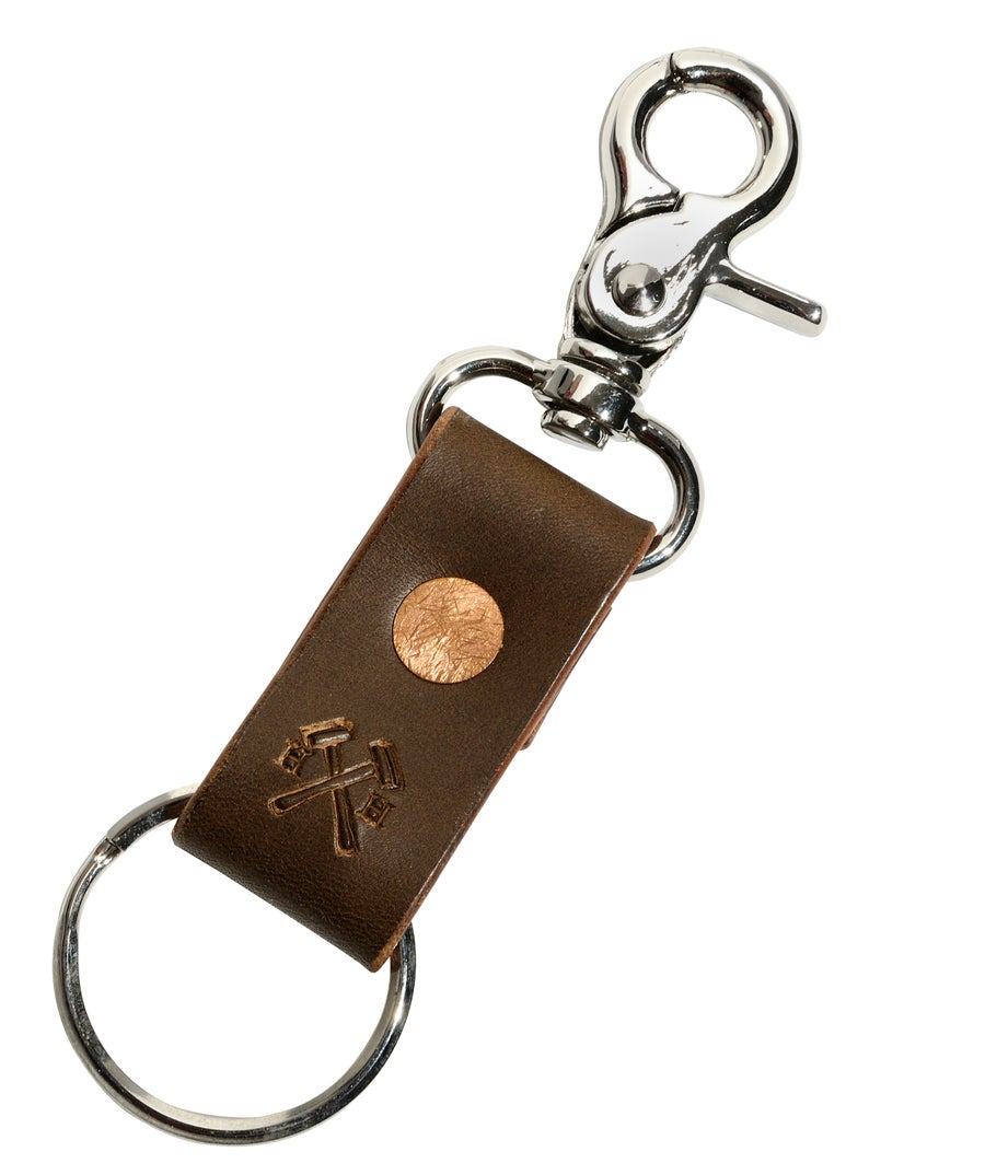 Image of Brown Key Leash