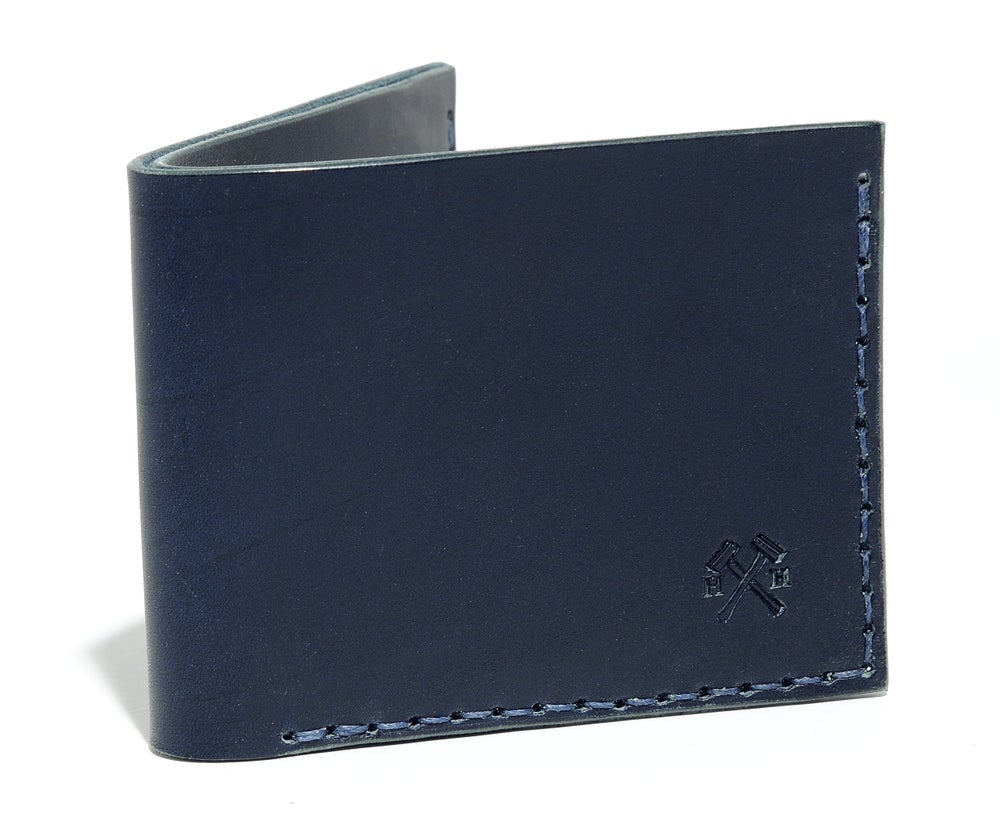 Image of Slim Wallet in Navy