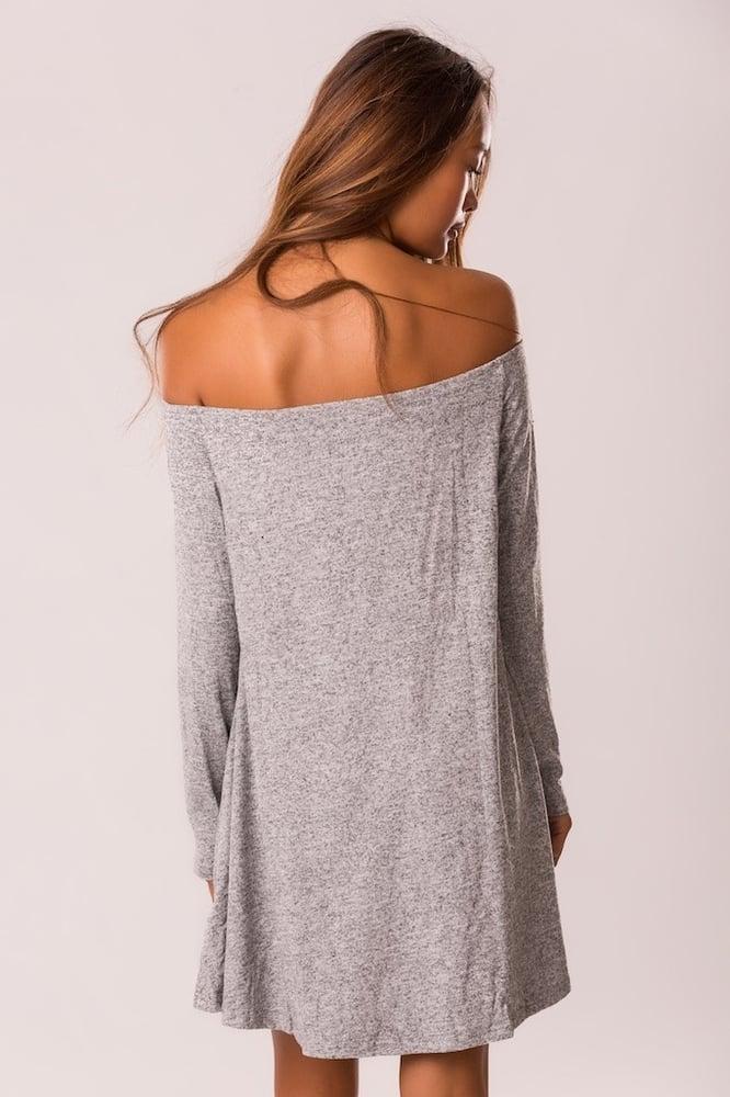 Image of HOT CUTE OFF SHOULDER DRESS  HIGH QUALITY
