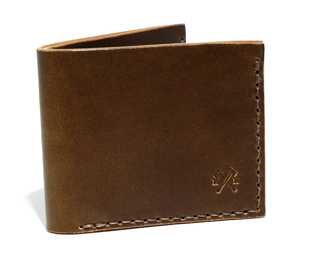 Image of Slim Wallet in Brown