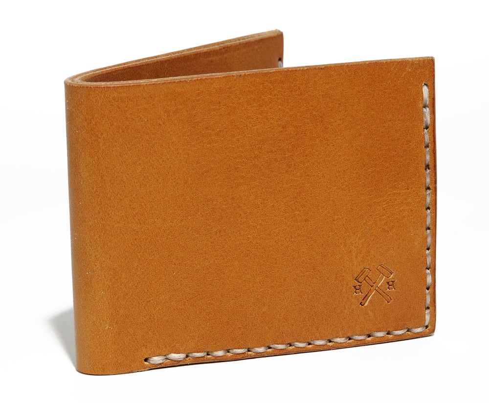Image of Slim Wallet in Tan