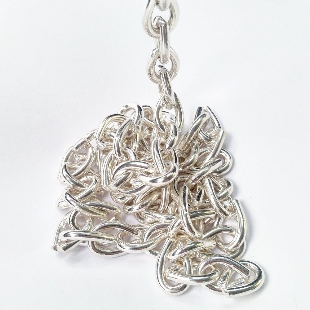 Image of .999 Solid Fine Silver Link Chain