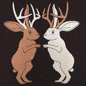 Image of Jackalopes T-shirt | Unisex SM-MD | Unisex VNeck XXS