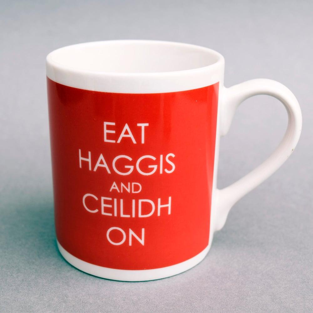 Image of Eat Haggis Mug (Red)